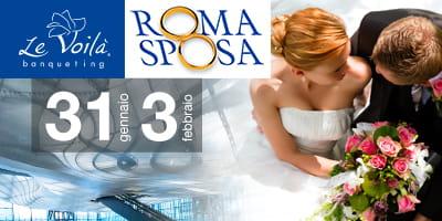 dde8ad69e3a6 Le Voilà Banqueting  da Roma Sposa 2019 agli Open Day in programma